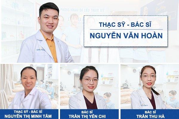 Đội ngũ Bác sĩ Chuyên khoa Da liễu tại phòng khám Maia