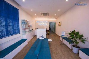 Phòng đón tiếp bệnh nhân làm thủ tục khám và điều trị