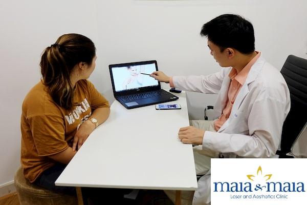 Hình ảnh Thạc sỹ - Bác sĩ Nguyễn Văn Hoàn hỗ trợ điều trị hôi nách tại PK Maia&Maia