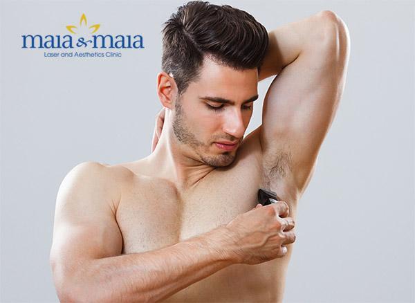 Rất nhiều nam giới cũng có nhu cầu được tỉa tót lông vùng nách