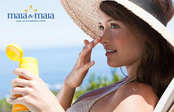 Sau điều trị nám nên chống nắng và che chắn kĩ cho làn da