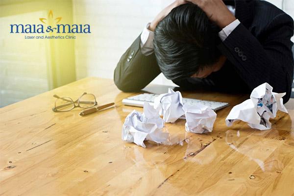 Tâm lý căng thẳng khiến bệnh vảy nến diễn tiến nặng hơn