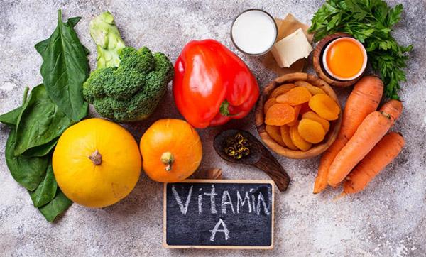 Người bị viêm da cơ địa nên bổ sung những thực phẩm chứa vitamin A
