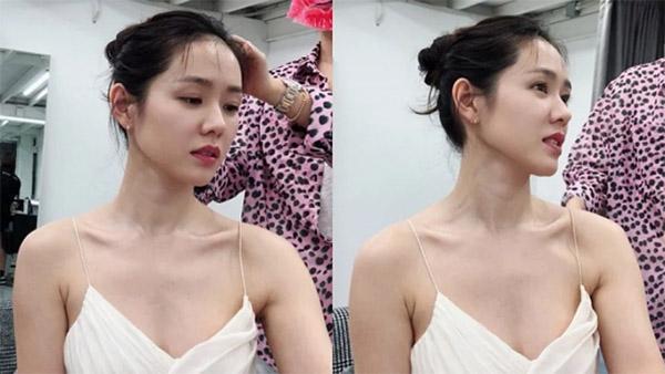 Mặt mộc thương hiệu Son Ye Jin