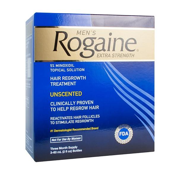 Rogaine với thành phần minoxidil 5%