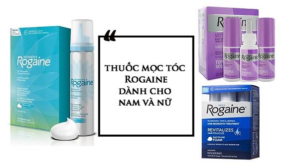 Rogaine có rất nhiều phiên bản dành cho nam và nữ
